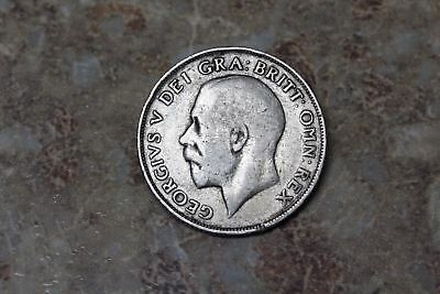 GREAT BRITAIN. George V Silver Shilling, 1911