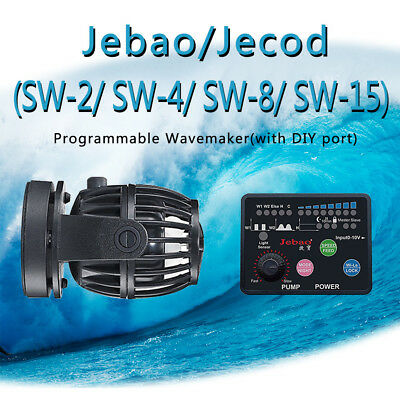 Jebao (Jecod) SW-2 SW-4 SW-8 SW-15 Programmable Wavemaker,2017 Upgrade Version