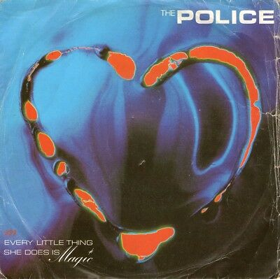 """POLICE - Every little thing she does is magic - 7""""   1981"""