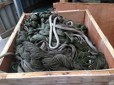 Wholesale Lot Of 1 Skid Of 12 Cut G11 Military Parachute 550 Cord/Straps!