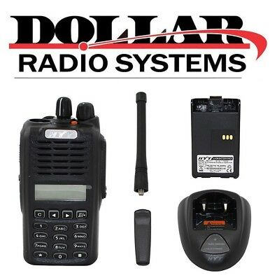HYT TC3600 UHF 400-470Mhz 128Ch Security GMRS Business Portable Radio