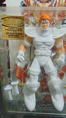 New! Extreme Toys Rob Liefeild/'s Youngblood Shaft White Variant action figure