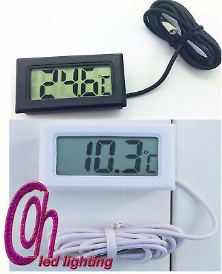 1Pc LCD Digital Thermometer Temperature -50~110 Sensor Aquarium Freezer Water