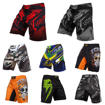 Shorts MMA Shorts Casual Night Vision Breathable Moisture Absorption Muay Thai