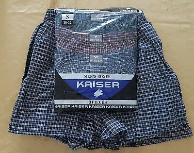 NEW 5 pcs Kaiser mens small 30-32 loose boxers
