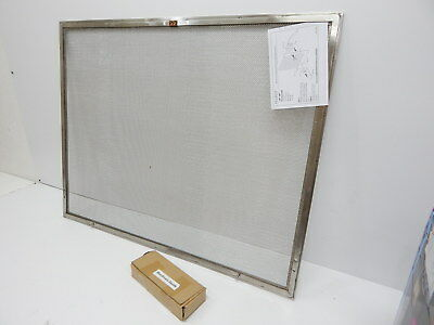 Pilgrim Home and Hearth 18257 Newport Fireplace Panel Screen, Stainless BOX DMG