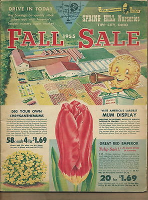 NM-062 - 1955 Spring Hill Nurseries Catalog, Fall, Tipp City, Ohio, Illustrated