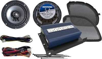 Hogtunes Amp & 6.5 Speaker Kit For 2015-2017 Harley Road Glides Rev200Rg Kit-Rm