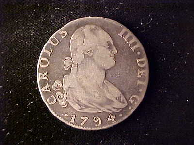Spain 4 Reales 1794 Madrid***no Reserve