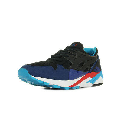 Chaussures Baskets Asics homme Gel Kayano Trainer taille Noir Noire Textile