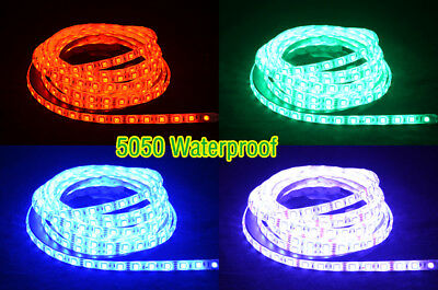 20/50/100cm Flexible LED Strip White/Warm/RGB 5630/5050 Waterproof IP65