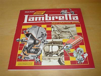 LAMBRETTA RESTORATION 150D 150LD 175TV 125LI 150LI 175 TV Owners Manual Handbook