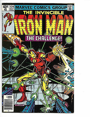 Iron Man # 134 - Bronze Age - Solid FN+ (6.5) Mid Grade