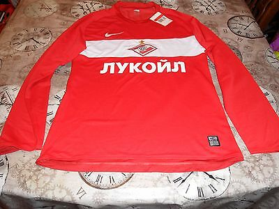 Spartak Moscow Player Issue Home Shirt 2009 Xl Mens Brand New Tagged