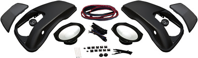 "Hogtunes Speaker Lid Kit W/6""x9"" Speakers For 1998-2013 Harley Touring 692Lid-Rm"