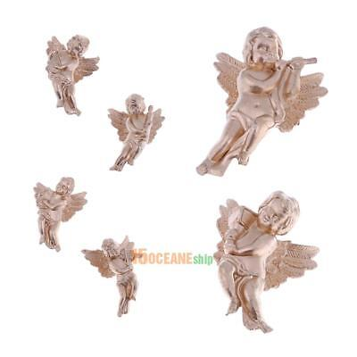 6 Kinds Lovely Angel Shaped Wings Christmas Tree Hanging Decor Pendant Ornament
