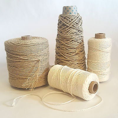 Strong High Quality Linen Yarn,Macramé Cord, Pure Linen Warp Thread for Weaving