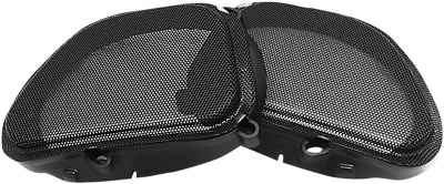 Hogtunes Replacement Front Speaker Grills 1998-2013 Harley Road Glides 57 Mesh