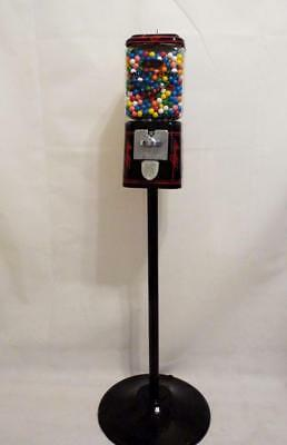 Ford Mustang car vintage candy gumball machine Acorn glass globe stand man cave