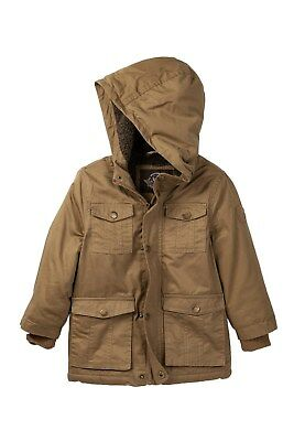 Urban Republic Mens Safari Jacket Saddle Brown
