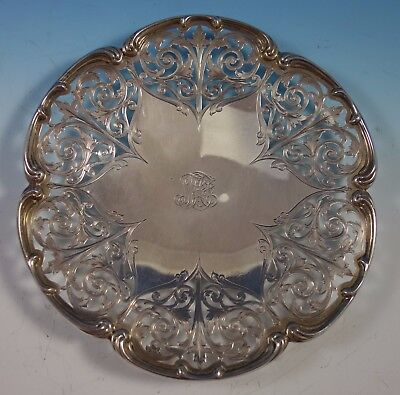 Sterling Silver Serving Plate Pierced Made for Tiffany & Co. #16 (#1838)