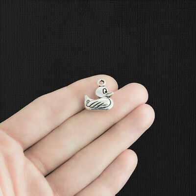 SC502 5 Sneaker Charms Antique Silver Tone 3D Running Shoes