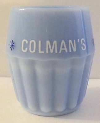 Colmans Mustard Restaurant Single Serve Glass Container