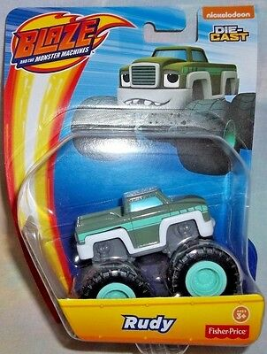 Blaze and the Monster Machines *RUDY* Die-Cast Vehicle 3+