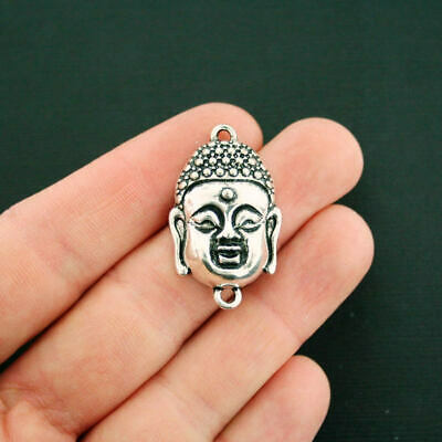 BR077 42mm 1 or 4 pcs Large Buddha Head Pendant Charms US Seller