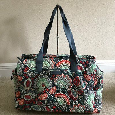 Vera Bradley Triple Compartment Travel Bag