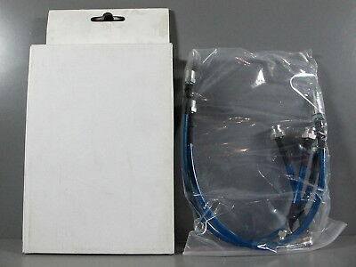 STAINLESS STEEL HOSE BRAKE LINE 93-98 Volkswagen VW Golf/Jetta MK3 Blue