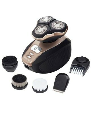 New Remington Quick Shave Pro Xr1415 Au Electric Shaver With 4 Grooming And Clea