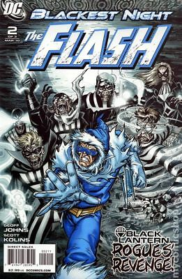 Blackest Night Flash (2009) #2A VF- 7.5