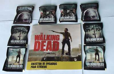 The Walking Dead Sticker Album for Collectors & 20 packs unopened New