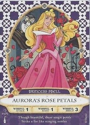 DISNEY - Aurora's Rose Pedals - Princes Spell - Card 41 / Sorcerers Of The MK