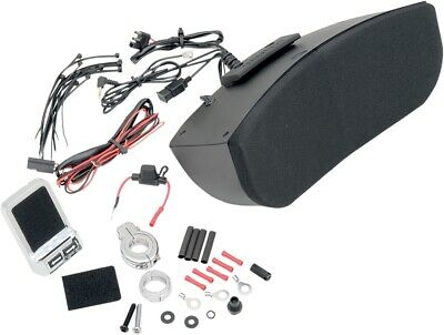 Hogtunes Speaker System Kit For Memphis Shades Harley Batwing Fairing Msa-1