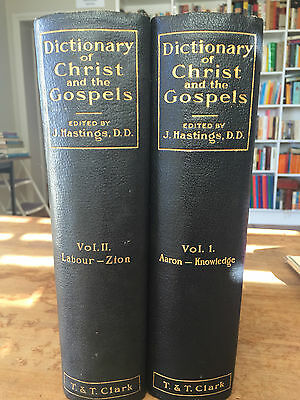 Dictionary of Christ & The Gospels