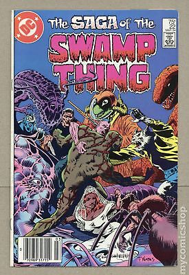 Swamp Thing (1982 2nd Series) #22 FN 6.0