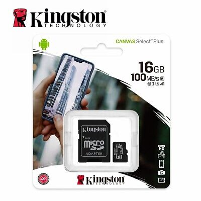 SD SDHC MicroSD Card 16GB Kingston Class10 GPS Phone Camera Memory Card DSLR