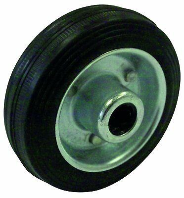 HSI Wheel Rubber with Steel Rim 160 mm Pack of 1 256270.0