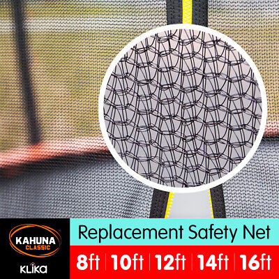 Kahuna  Enclosure Replacement Trampoline Safety Inner Net 8 10 ft 12ft 14ft 16ft