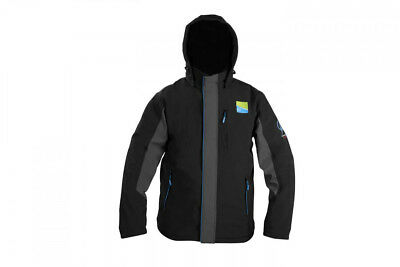 Preston innovations soft shell hooded fleece