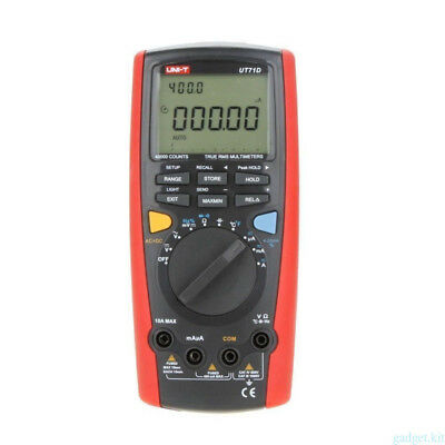 UNI-T UT71D True RMS Auto Data Log Digital Multimeter AC/DC Volt Tester BEST9O