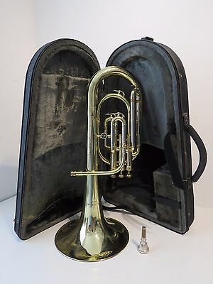 Antoine Courtois 170 Eb Tenor Horn Outfit in Brass Lacquer