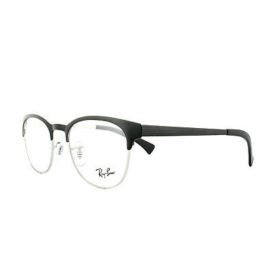 a202d7735fb Ray-Ban Glasses Frames 6317 2832 Top Black on Matte Silver Mens Womens 51mm