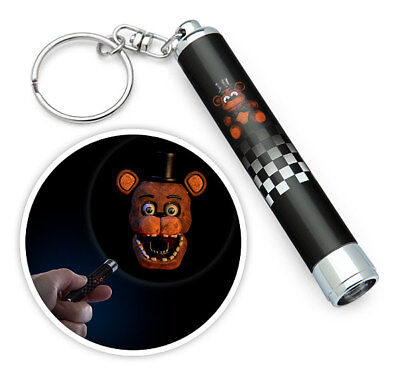 Five Nights At Freddys Mini Fright Light Projector Key Ring Halloween Blind Bag