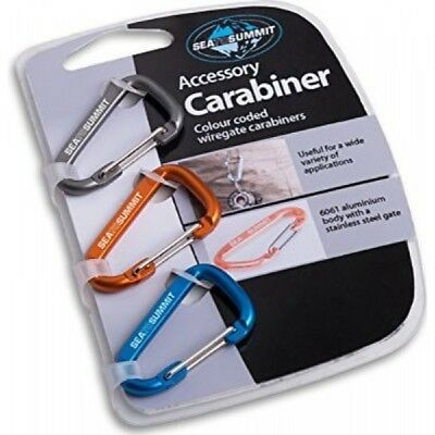 Sea to Summit Accessory Carabiner Karabiner 3er Pack Schlüsselanhänger