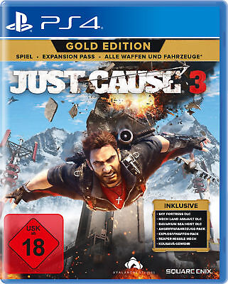 Just Cause 3 - Gold Edition - PlayStation 4 / PS4 (NEU & OVP!)