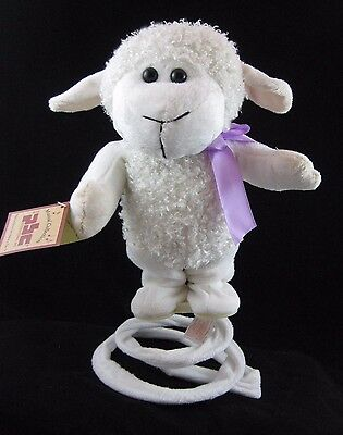 "Chantilly Lane Musical/Animated ""SPRING-A-DING"" Lamb NWT-PBC"