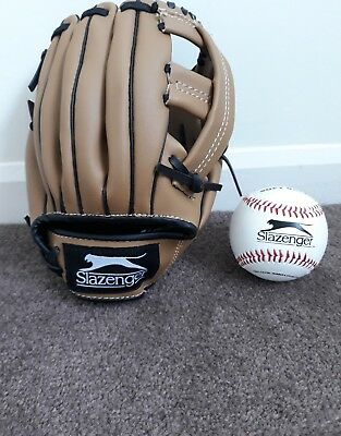 Slazenger Baseball and Glove